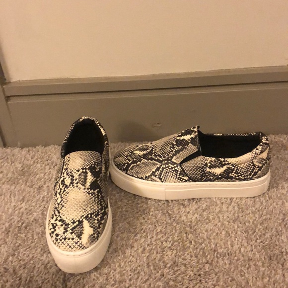 Box Snakeskin Platform Sneakers   Poshmark
